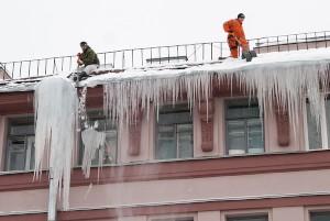 Услуги по чистке кровли от снега
